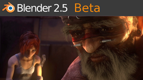 Sortie de Blender 2.53 Beta Splashflat