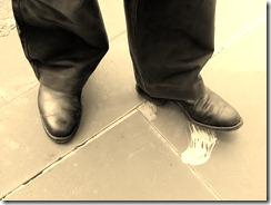 gum-on-shoe