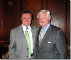 Myles & Senator Kennedy