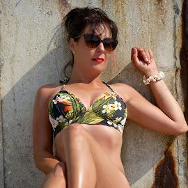Bikini Model by John Mcloughlin Wildlife Photography - People Portraits of Women ( john mcloughlin wildlife photography,  )