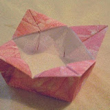 Origami - Fancy Square Box