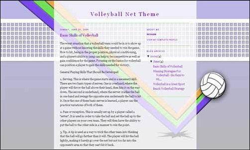volleybalnet-template