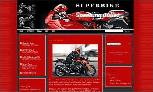 Super Bike Template