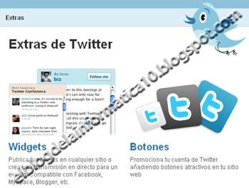 Actualizaciones de Twitter en blog