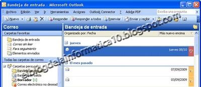 Outlook: Marcar los mensajes