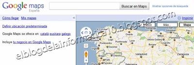 Insertar mapa de Google