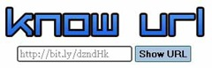Enlace detrás de URL acortada