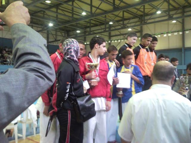 فريق الإنتصار أشبال يتحصل على المرتبة الثالثة في كأس الجزائر للكراتي دو SNC00178
