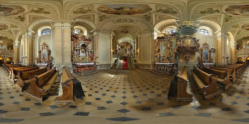 Balatonalmádi Szent Jobb kápolna gömbpanoráma