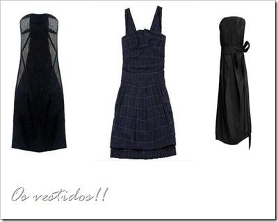 os vestidos