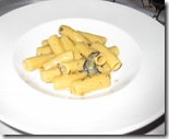 acquerello - pasta with foie gras scented with black truffles and Marsala