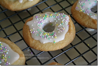 Skipping Stones Donut Cookies on Rack
