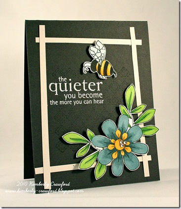 Unity Flower, Bee, Quiet