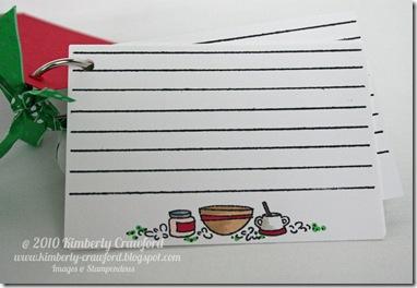 Bake Memories Recipe Book Cards