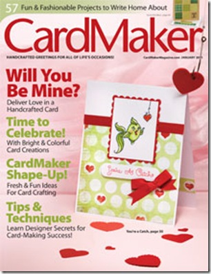 Card Maker Cover January