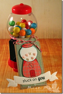 gumball machine tag