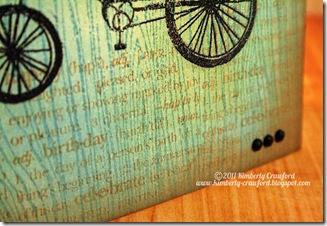 Best Wishes Birthday Bike CU Bkgnd