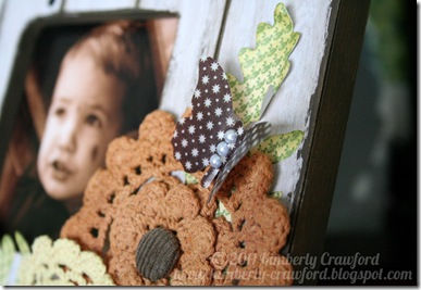 Frame Wood CU Butterfly