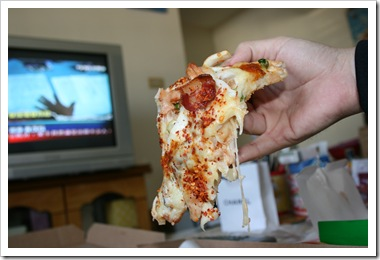 拿坡里-義式海陸豪華披薩 牽絲