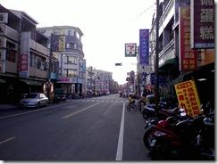 臭豆腐店家在的十字路口