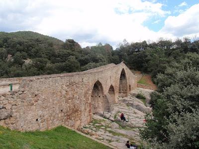Final de la ruta al Pont de Pedret