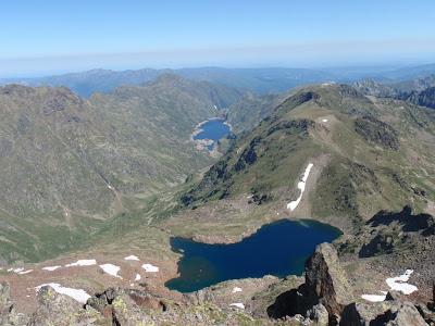 Vista des del cim cap al nord