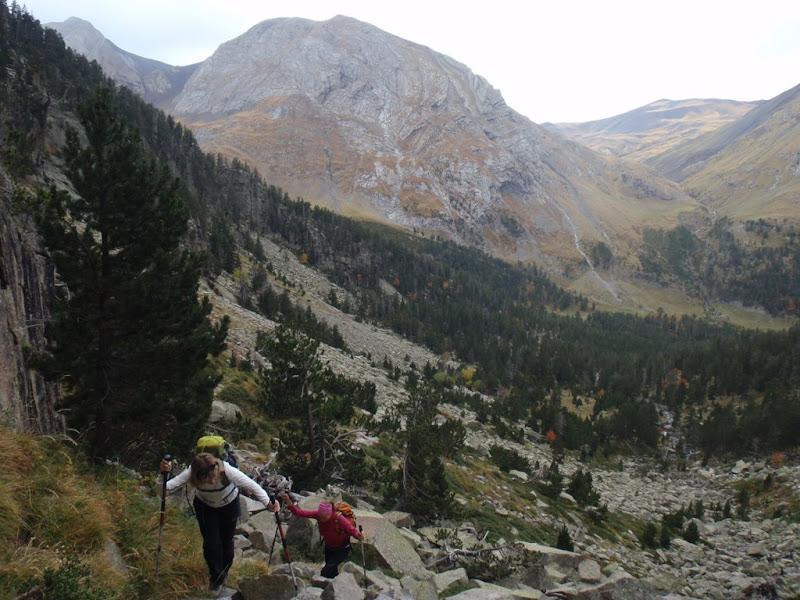 Pujant per la vall de Coronas