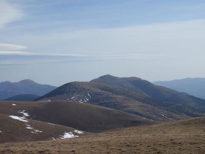 Serra de Montgrony, i al fons el Costa Pubilla