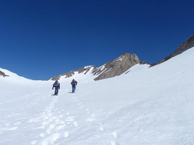 Progressió per la glacera
