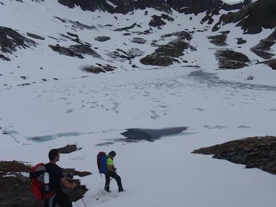 Arribant als estanys de Baiau