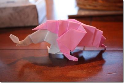 anklyosaurus origami