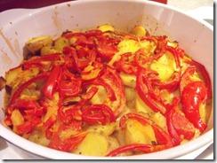 Paprika-Kartoffel-Auflauf
