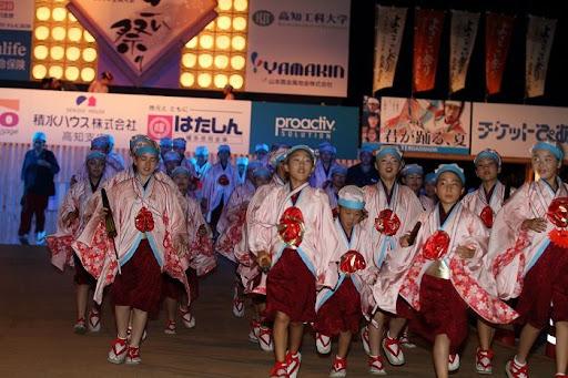 本祭1日目 高知城演舞場 3   D-11918