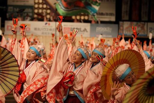 本祭1日目 高知城演舞場 6   D-11942