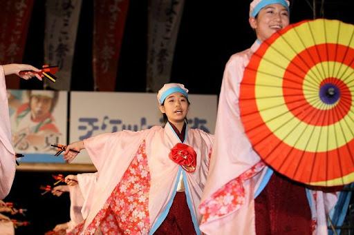 本祭1日目 高知城演舞場 43   D-12040
