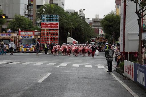 本祭2日目 追手筋本部競演場  3     D-15805