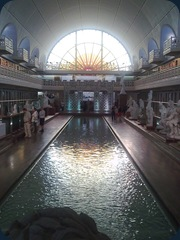 top of swimming pool