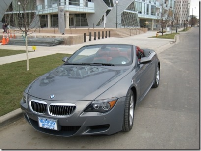 2007 M6 Cab delivered BMW