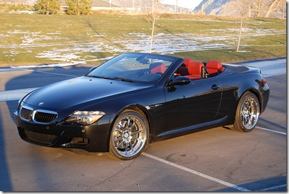 BMW m6 perfect ride for men!