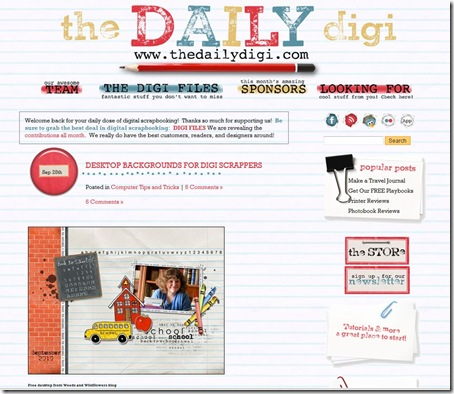 daily digi destop feature