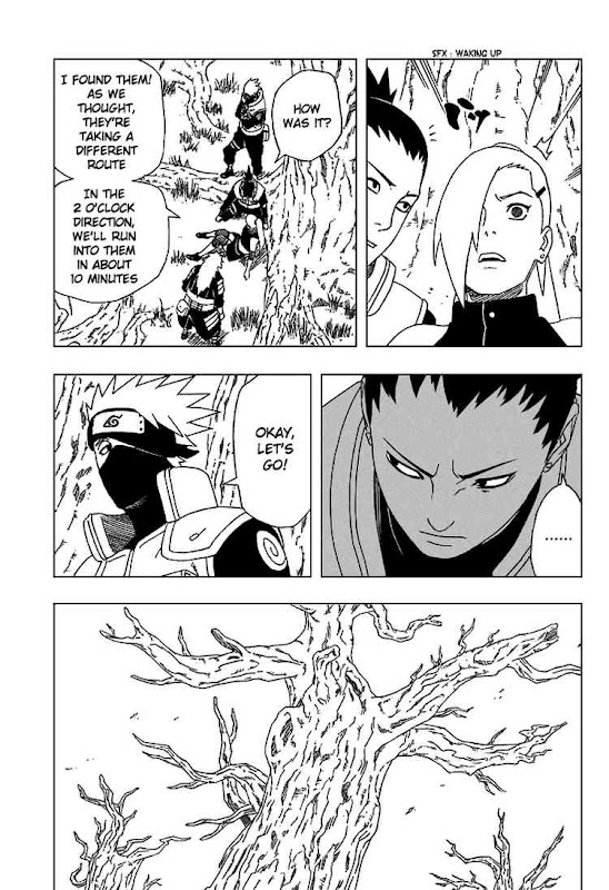 Naruto Shippuden Manga Chapter 332 - Image 09