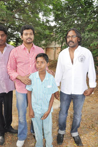 Vijay Charity saves boy life