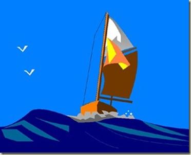 Boat Sailing