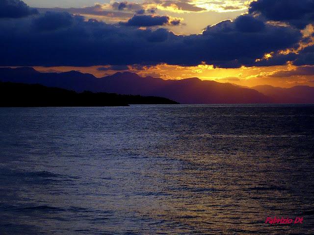 nuvole e tramonto