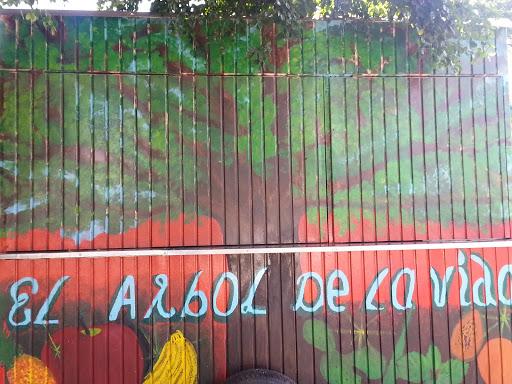 mural el árbol de la vida