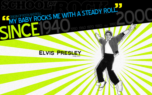 Elvis Presley wallpaper from Kristan Franco