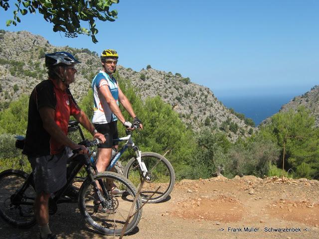 Zum Bericht über die MTB-fahren auf Mallorca...