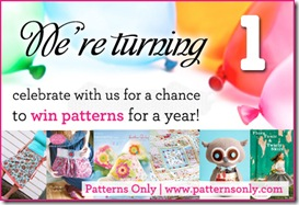 Patterns Only 1st birthday