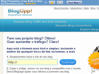Aabaca Dicas-Blogupp divulga seu blog
