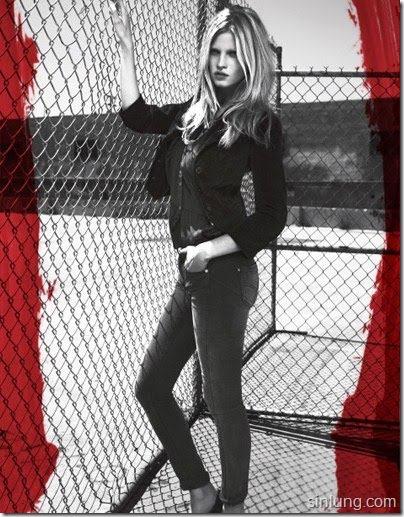 lara stone calvin klein jeans banned ad � photos nsfw